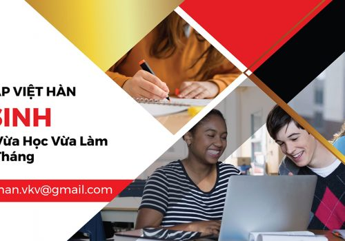 Trường Việt Hàn Tuyển Sinh Hệ Chính Quy-Văn Bằng 2-Vừa Làm Vừa Học-Hệ 10 Tháng-Hệ Từ Xa