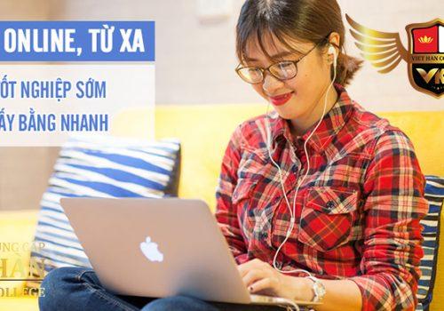 Học online từ xa tại Trường Trung Cấp Việt Hàn