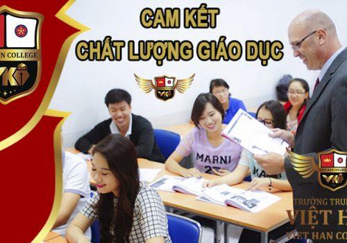 Trường Trung Cấp Việt Hàn-Cam Kết Chất Lượng Giáo Dục
