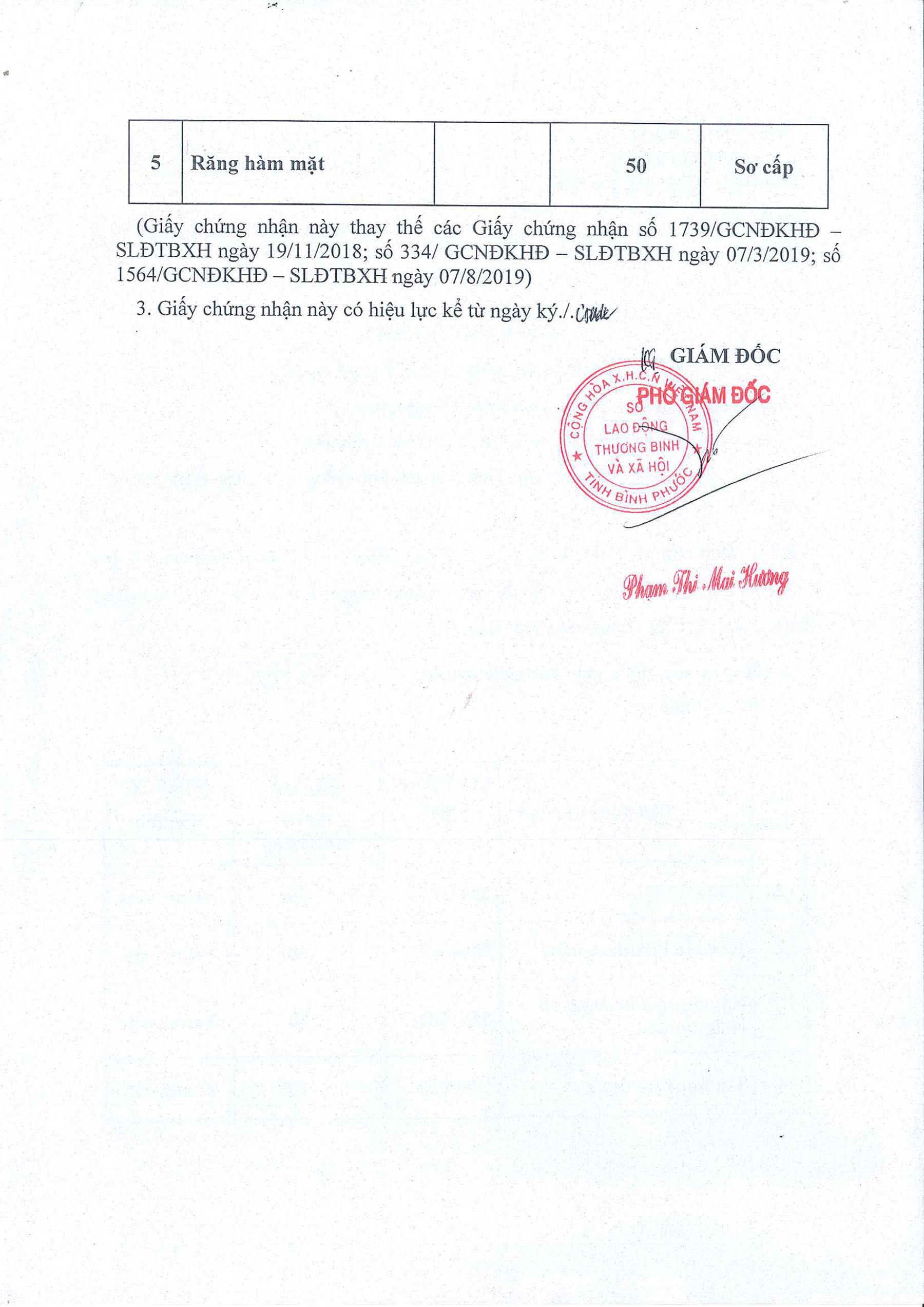 Đăng Ký Hoạt Động Giáo Dục Nghề Nghiệp Của Trường Trung Cấp Việt Hàn -2