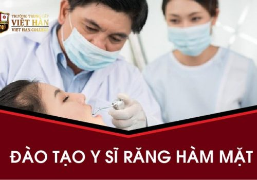 Trường Trung cấp Việt Hàn tuyển sinh ngành Y Sĩ Răng Hàm Mặt